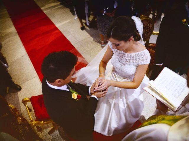 La boda de Feli y Santy en Piornal, Cáceres 36
