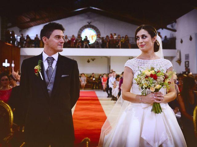 La boda de Feli y Santy en Piornal, Cáceres 37