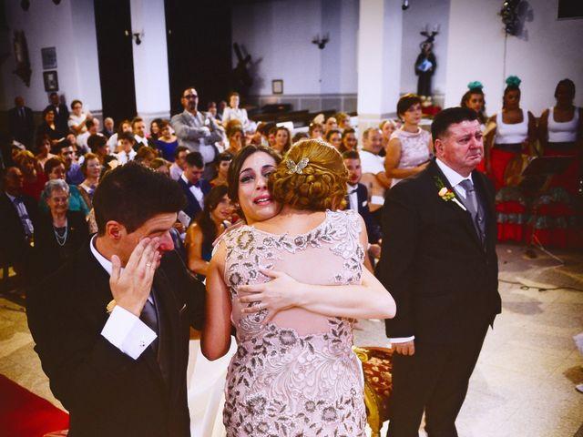 La boda de Feli y Santy en Piornal, Cáceres 38