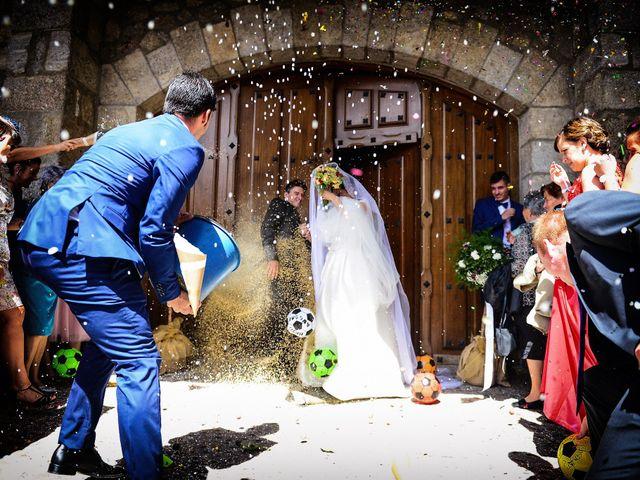 La boda de Feli y Santy en Piornal, Cáceres 39