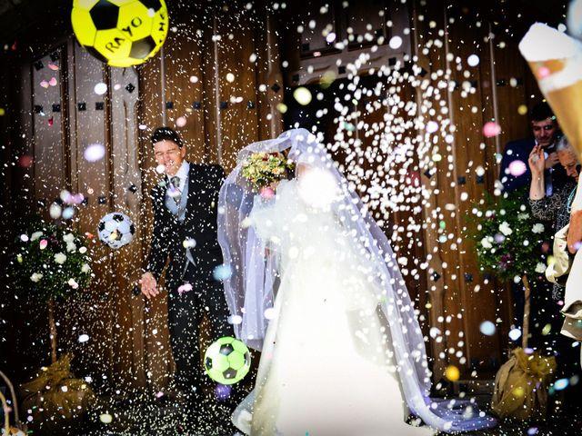 La boda de Feli y Santy en Piornal, Cáceres 40