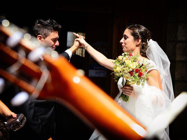La boda de Feli y Santy en Piornal, Cáceres 42