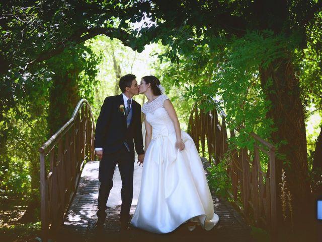 La boda de Feli y Santy en Piornal, Cáceres 45