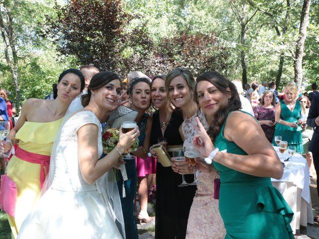La boda de Feli y Santy en Piornal, Cáceres 46