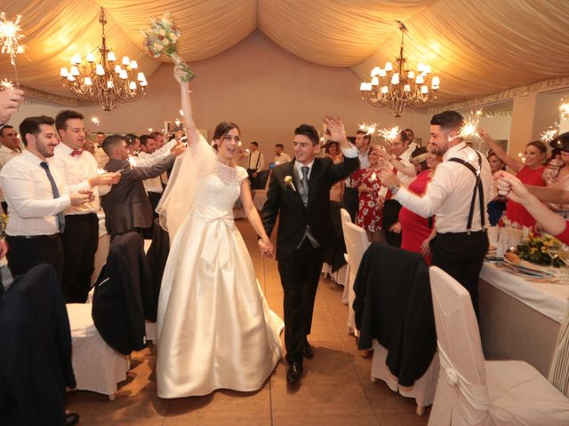 La boda de Feli y Santy en Piornal, Cáceres 51
