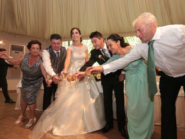 La boda de Feli y Santy en Piornal, Cáceres 52