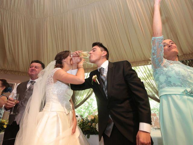 La boda de Feli y Santy en Piornal, Cáceres 53