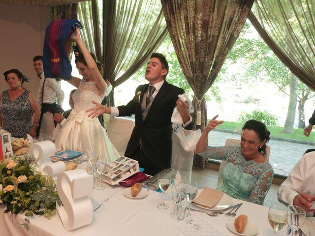 La boda de Feli y Santy en Piornal, Cáceres 54