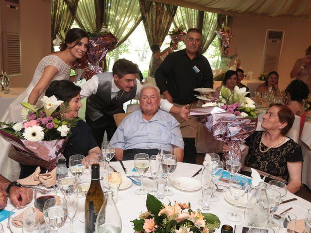 La boda de Feli y Santy en Piornal, Cáceres 57