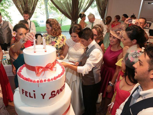 La boda de Feli y Santy en Piornal, Cáceres 63