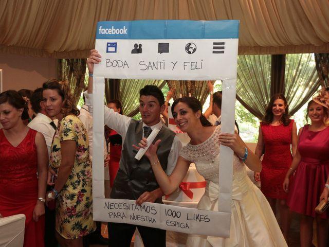 La boda de Feli y Santy en Piornal, Cáceres 64