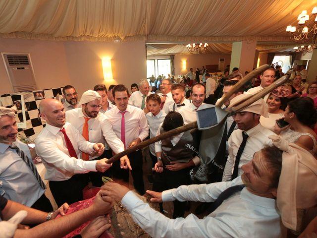 La boda de Feli y Santy en Piornal, Cáceres 66