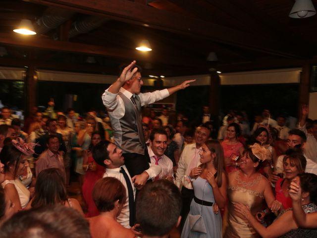 La boda de Feli y Santy en Piornal, Cáceres 69