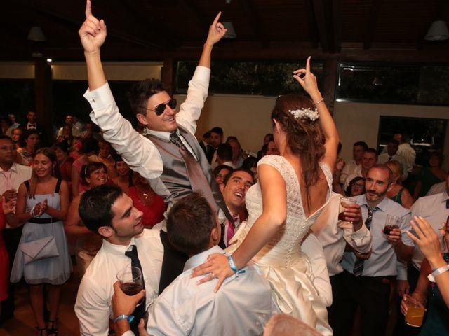 La boda de Feli y Santy en Piornal, Cáceres 70