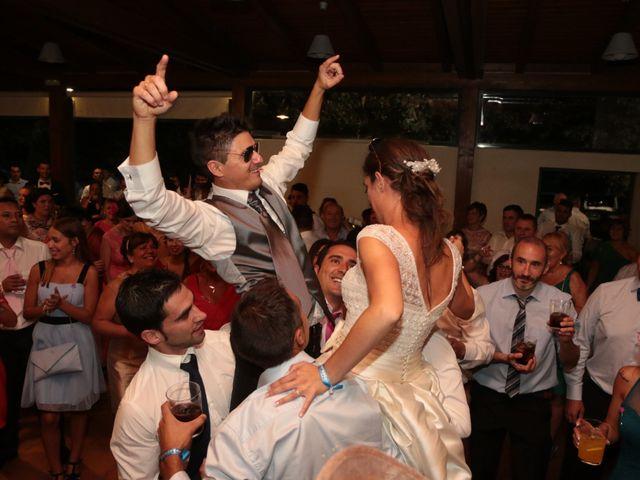 La boda de Feli y Santy en Piornal, Cáceres 71
