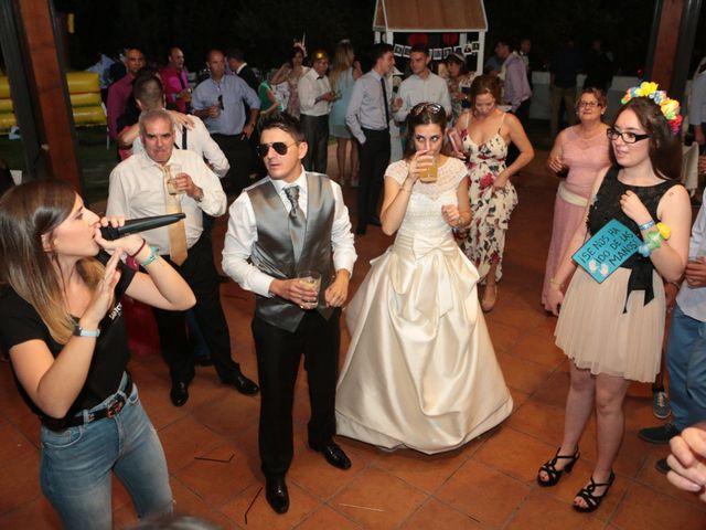 La boda de Feli y Santy en Piornal, Cáceres 72