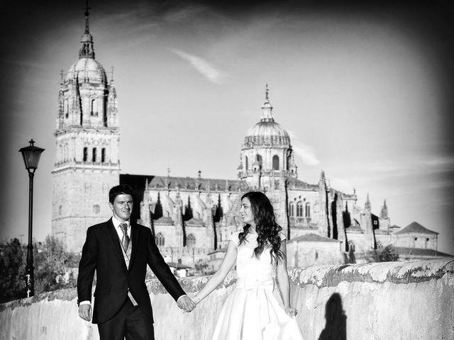 La boda de Feli y Santy en Piornal, Cáceres 75