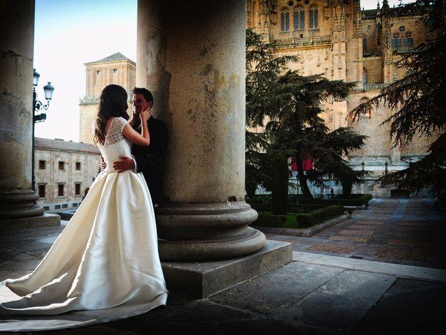La boda de Feli y Santy en Piornal, Cáceres 77