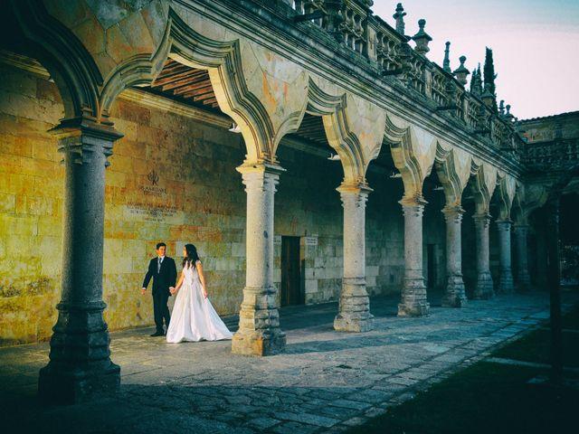 La boda de Feli y Santy en Piornal, Cáceres 79