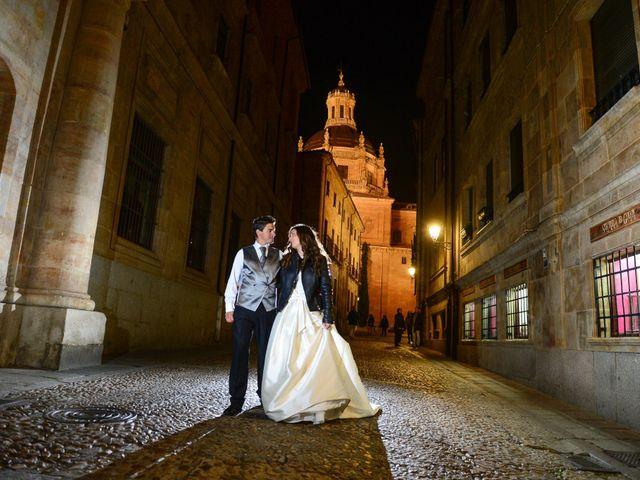 La boda de Feli y Santy en Piornal, Cáceres 80