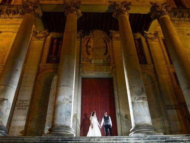 La boda de Feli y Santy en Piornal, Cáceres 81