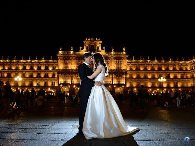 La boda de Feli y Santy en Piornal, Cáceres 1