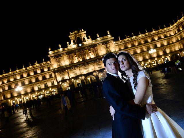 La boda de Feli y Santy en Piornal, Cáceres 84