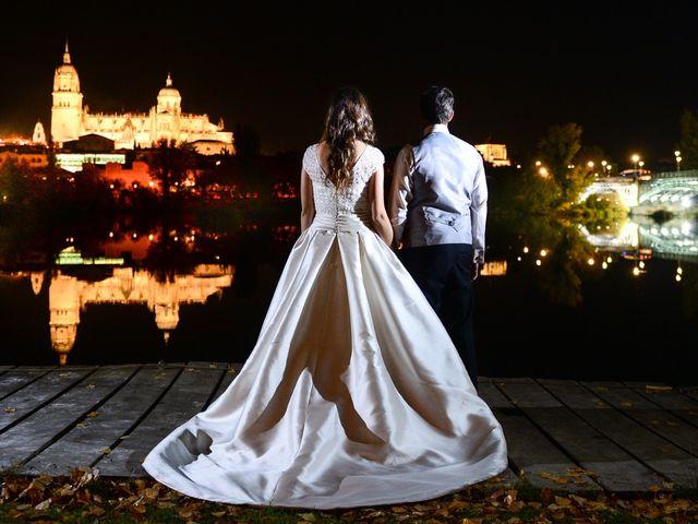La boda de Feli y Santy en Piornal, Cáceres 85