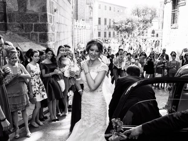 La boda de Carlos y Alba en Toledo, Toledo 9