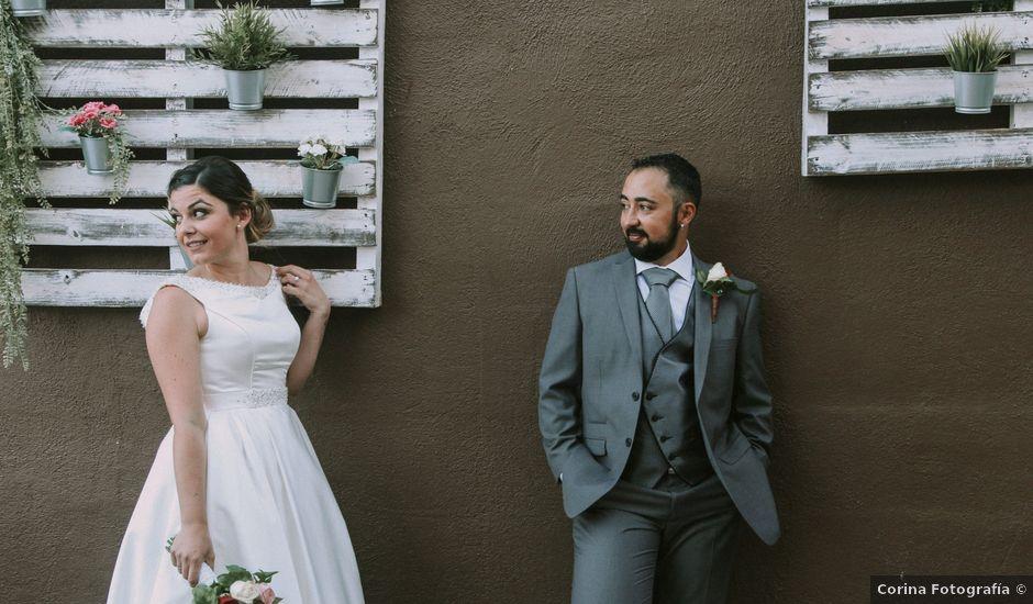 La boda de Isaac y Raquel en Candelaria, Santa Cruz de Tenerife