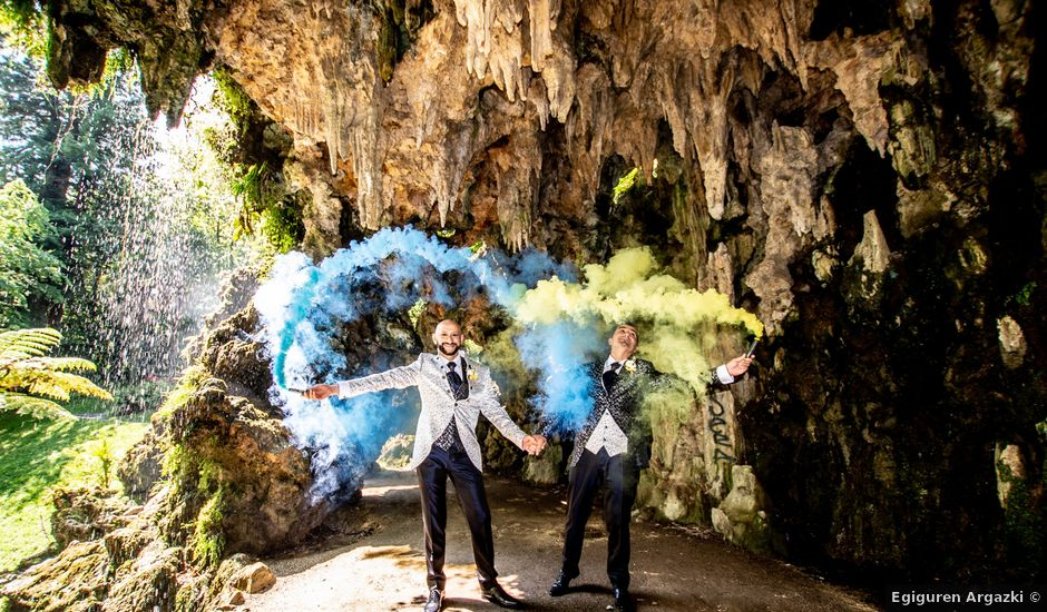 La boda de Fran y Mikel en Hernani, Guipúzcoa