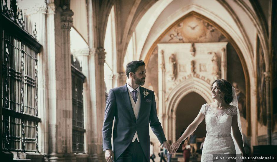 La boda de Carlos y Alba en Toledo, Toledo
