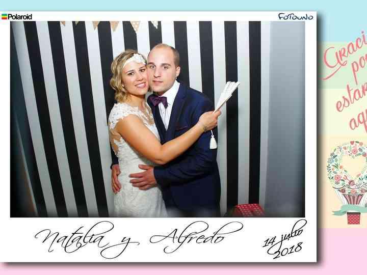 La boda de Natalia  y Alfredo