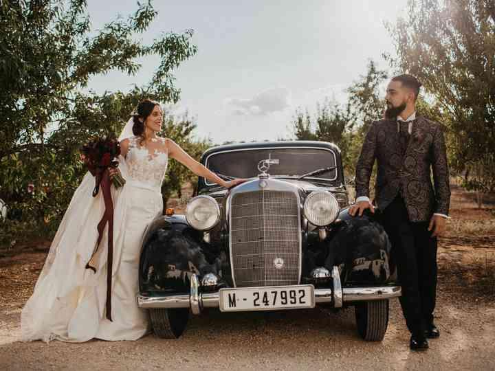 La boda de maria angeles y Enrique