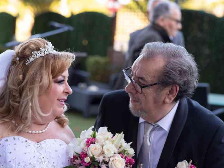 La boda de María y Amable