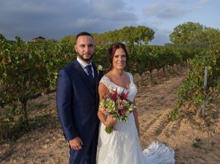 La boda de Alba y Adria