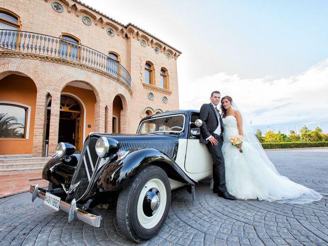 La boda de Antonio y Sandra en Vila-real/villarreal, Castellón 11