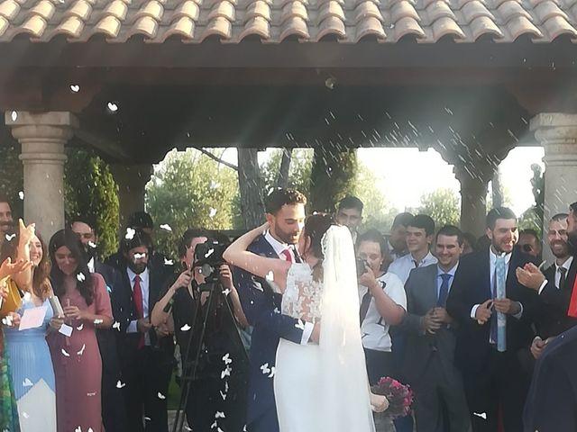 La boda de Alberto y Natalia en San Agustin De Guadalix, Madrid 1