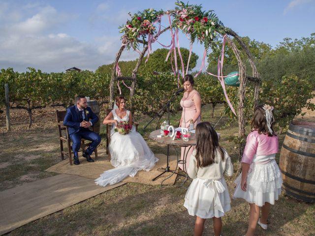 La boda de Adria y Alba en Sant Cugat Sesgarrigues, Barcelona 11