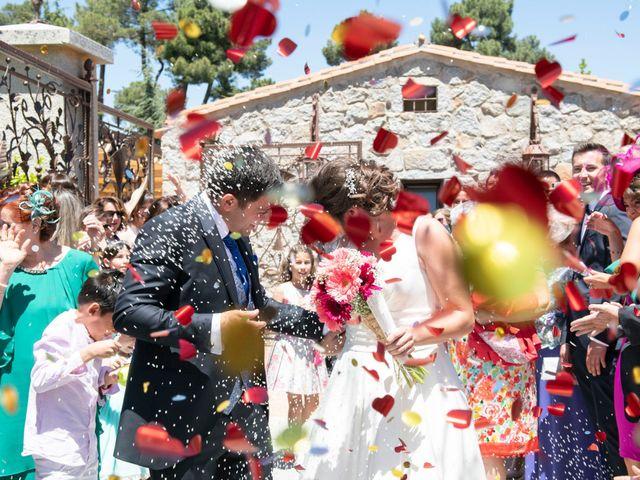La boda de David y Carmen en Ávila, Ávila 26