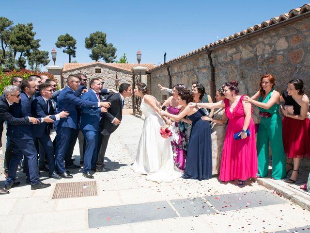 La boda de David y Carmen en Ávila, Ávila 28