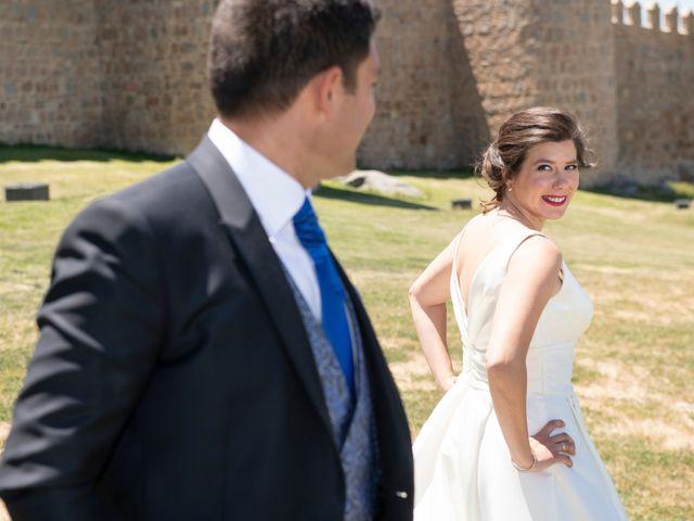 La boda de David y Carmen en Ávila, Ávila 30