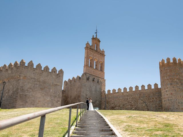 La boda de David y Carmen en Ávila, Ávila 31