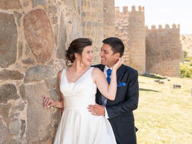 La boda de David y Carmen en Ávila, Ávila 32