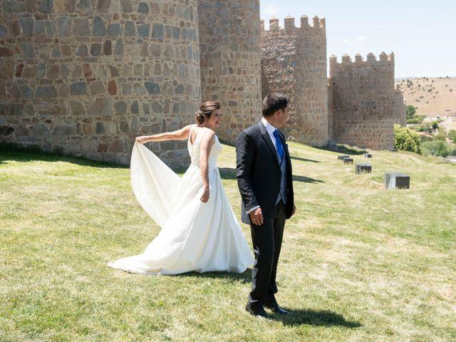 La boda de David y Carmen en Ávila, Ávila 34