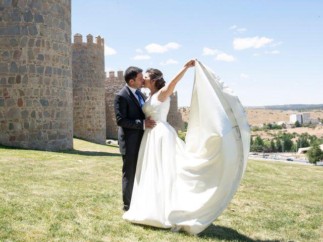 La boda de David y Carmen en Ávila, Ávila 35