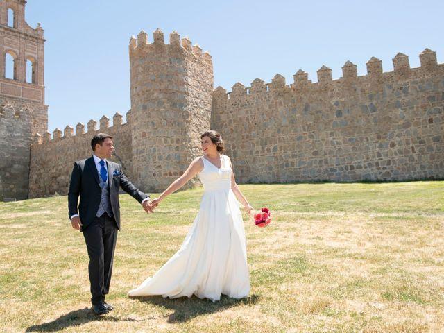 La boda de David y Carmen en Ávila, Ávila 36