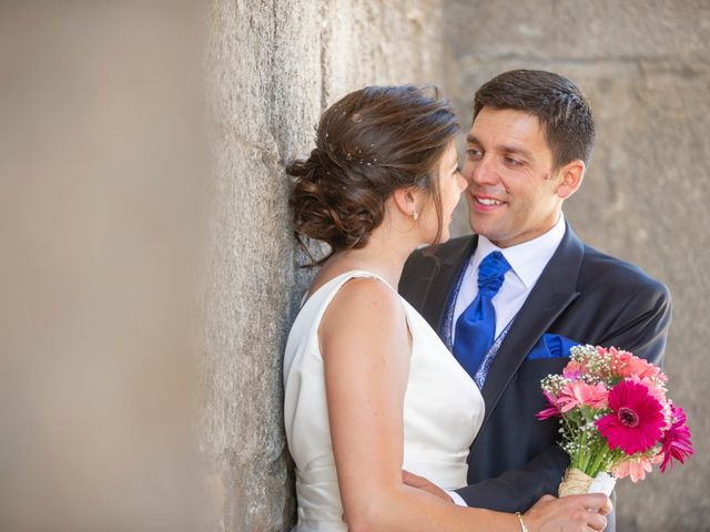 La boda de David y Carmen en Ávila, Ávila 37