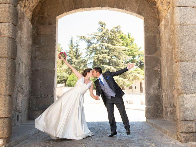 La boda de David y Carmen en Ávila, Ávila 38