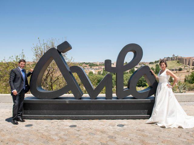 La boda de David y Carmen en Ávila, Ávila 39